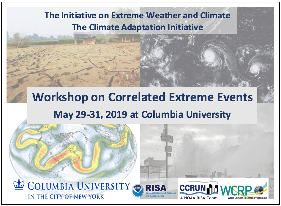 Workshop on Correlated Extremes – Initiative on Extreme